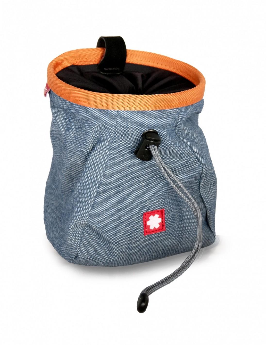 Ocun Chalkbag Lucky + Belt - Jeans Chalkbag Farbe - Sortiert, Chalkbag Verwendun