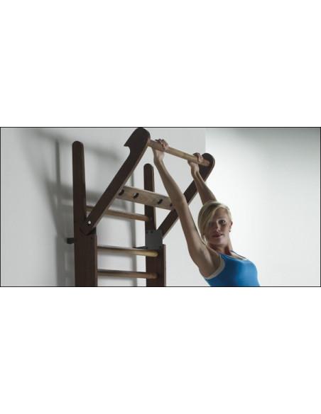 NOHrD ausklappbare Sprossenwand Esche - 10 Sprossen von Nohrd