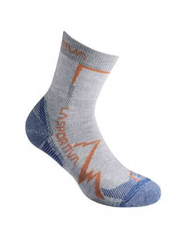 La Sportiva Socken Mountain Light Grey/Cobalt Blue von La Sportiva Italy