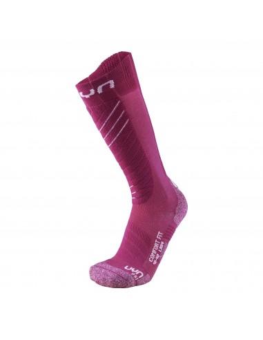UYN Skisocken - Ski Comfort Fit Lady, pink/white von UYN