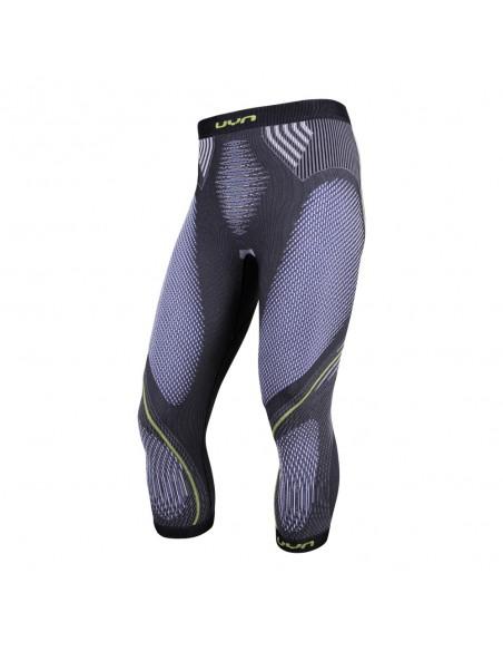 UYN Pants - Evolutyon uw Medium, anthracite melange/blue/yellow shiny von UYN