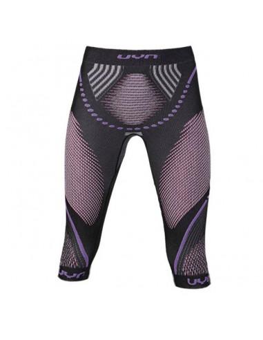 UYN Pants - Lady Evolutyon uw Medium, anthracite melange/raspberry/purple von UYN