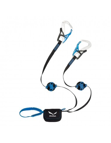 Salewa Klettersteigset Ergo Zip, silver/royal blue von Salewa