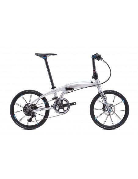 Tern Faltrad Verge X11, chrome / black von Tern