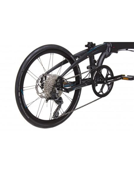Tern Faltrad Verge P10, black / dark grey von Tern