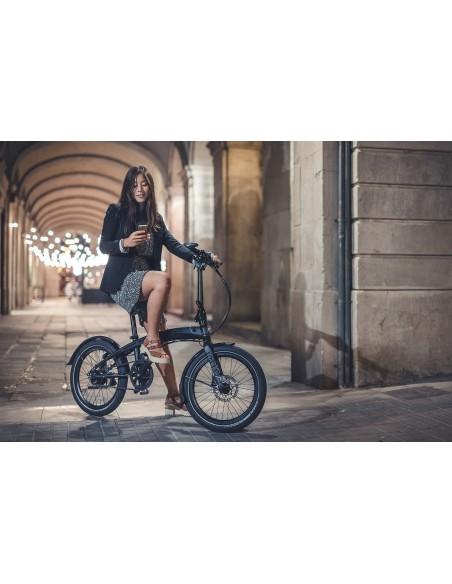Tern Faltrad Verge S8i, black / silver von Tern