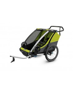 Thule Chariot Cab 2 Chartreuse - Modell 2019