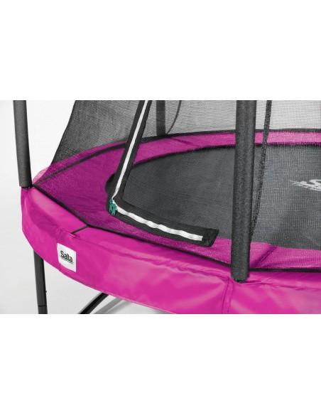 Salta Trampoline Comfort Edition COMBO rund 213cm, Pink von Salta Trampolines