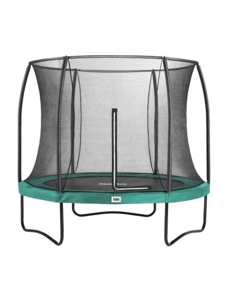 Salta Trampoline Comfort Edition COMBO rund 251, Grün von Salta Trampolines