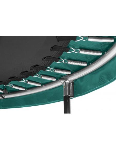 Salta Trampoline Comfort Edition COMBO rund 396, Grün von Salta Trampolines