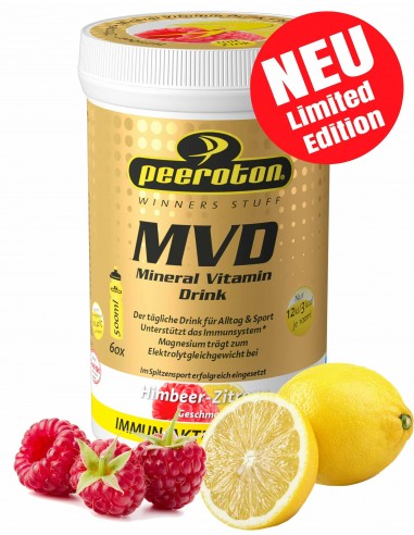PEEROTON MVD Mineral Vitamin Drink, Himbeer-Zitrone, 300g von Peeroton