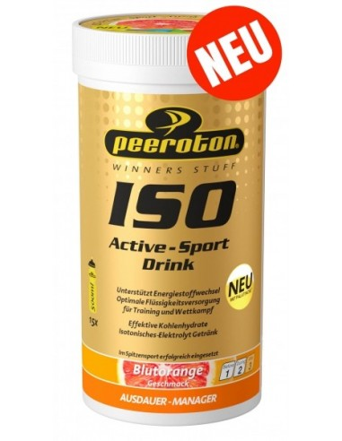 Peeroton ISO Active - Sport Drink, Blutorange, 300g von Peeroton
