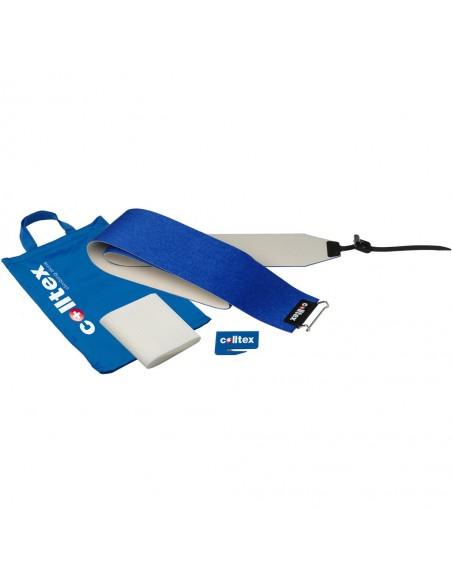 Colltex Cut to Size 120mm Standard, 185cm Q01 Mix blue, Hotmelt raw, Front: 41 End: plus - camlock von Colltex