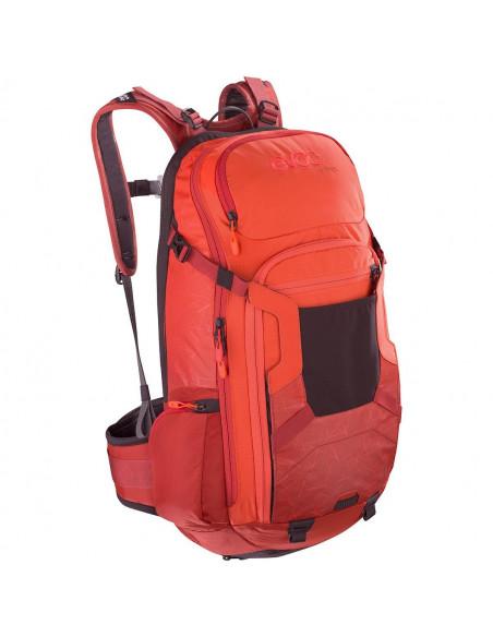 Evoc Protektor Rucksack FR Trail, 20L, orange/chili red, M/L von Evoc
