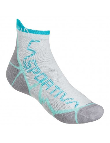 La Sportiva Socken Long Distance White/Green, S (35-37) von La Sportiva