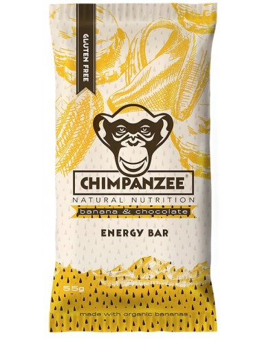 Chimpanzee All Natural Energy Bar Banana & Chocolate von Chimpanzee