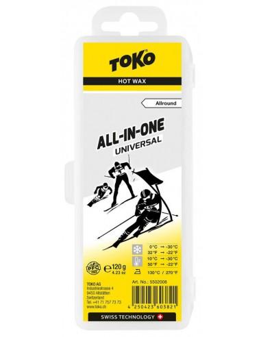 Toko All-in-one Hot Wax universal 120g von Toko