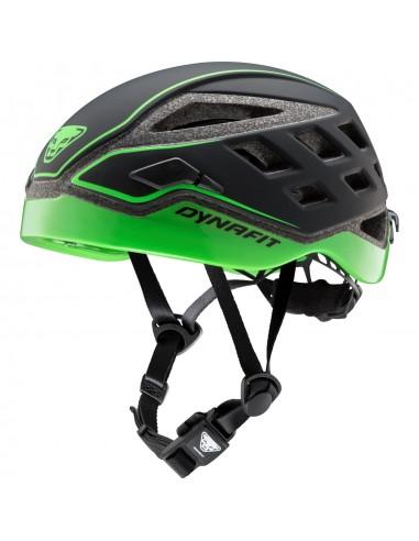 Dynafit Skitourenhelm Radical Helmet, black/DNA green von Dynafit