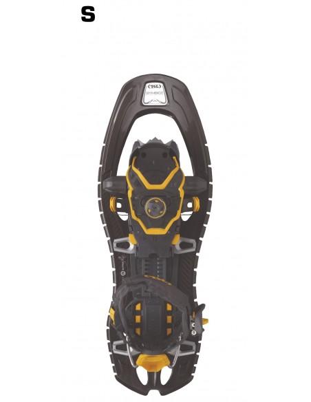 TSL Schneeschuhe Symbioz Hyperflex Adjust Titan Black von TSL Outdoor