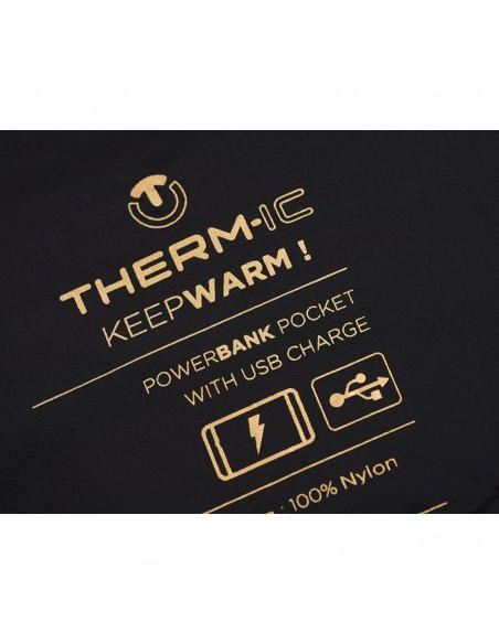 Therm-Ic Heizweste Männer, inkl. Kabel für Heizen über zb eine Powerbank von Therm-Ic