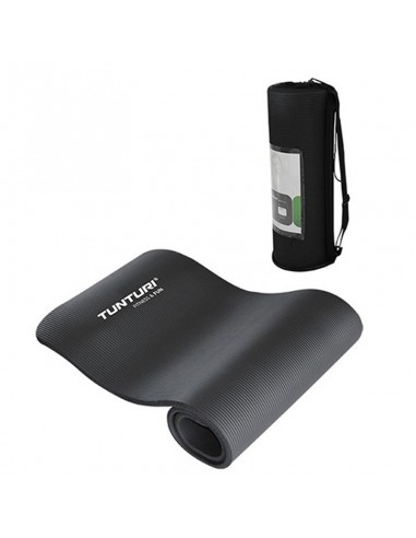 Tunturi Fun Fitnessmatte mit Tasche schwarz von Tunturi