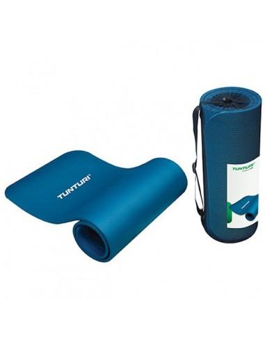 Tunturi Fun Fitnessmatte mit Tasche blau von Tunturi