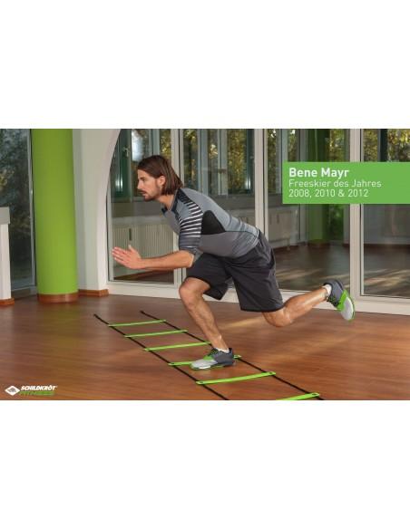 Schildkröt-Fitness Koordinationsleiter