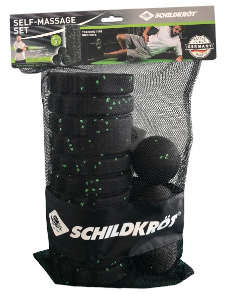 Schildkröt-Fitness Selbstmassage Set, 3-teilig, Made in Germany