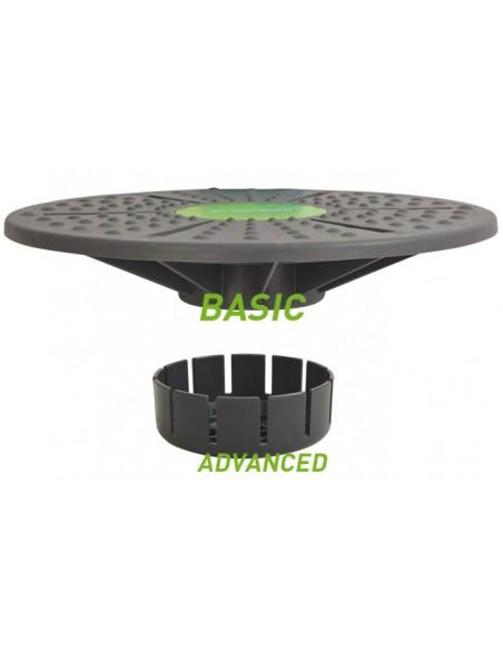 Schildkröt-Fitness Balance Board, ink. Anti-Rutsch Pad
