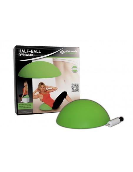 Schildkröt-Fitness Half-Ball Dynamic, inkl. Handpumpe und Übungsposter