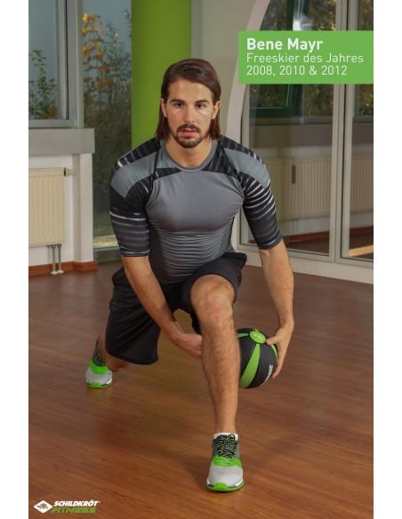 Schildkröt-Fitness Medizinball - 1,0 kg