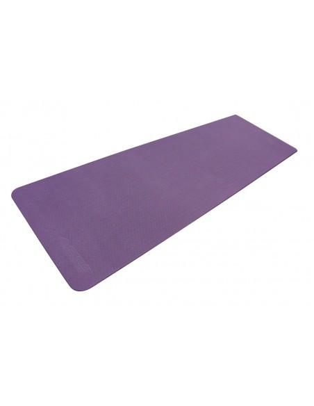 Schildkröt-Fitness Bicolor Yogamatte, Purple-Pink, 4mm, PVC-frei, im Carrybag