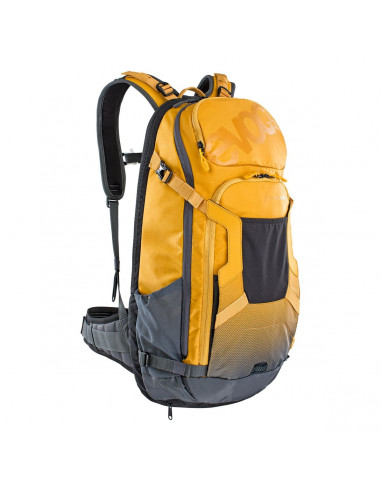 Evoc Protektor Rucksack FR Trail E-Ride, 20L, loam-carbon grey, M/L von Evoc