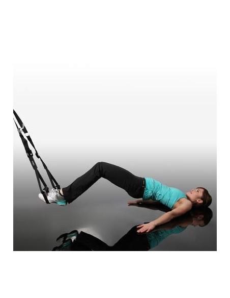Gymstick Schlingentrainer, inkl. Karabiner, Türanker und Online Video