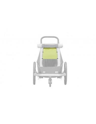 Croozer Sonnenschutz für Kid/Kid Plus for 1, Lemon green von Croozer