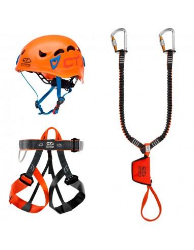 Climbing Technology Kit Ferrata Evolution, Galaxy Helm von Climbing Technology