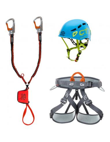Climbing Technology Kit Ferrata Plus Twist, Eclipse Helm von Climbing Technology