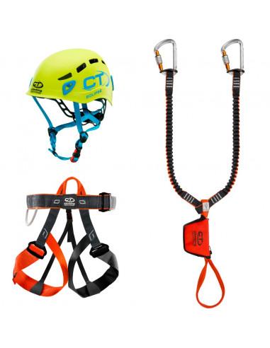 Climbing Technology Kit Ferrata Evolution, Eclipse Helm von Climbing Technology