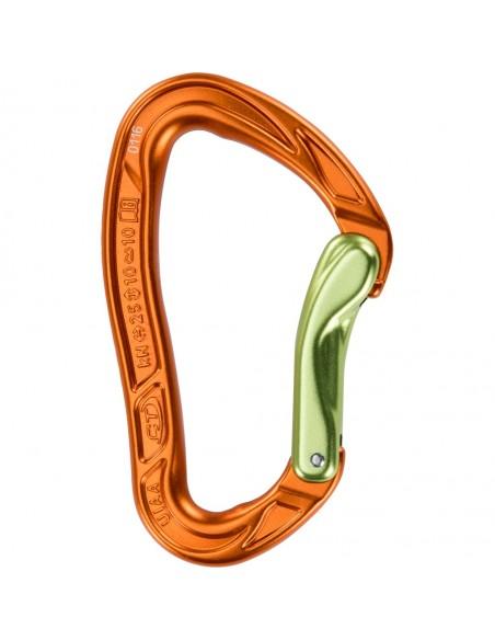 Climbing Technology Karabiner Nimble Evo B, orange/green von Climbing Technology in Karabiner