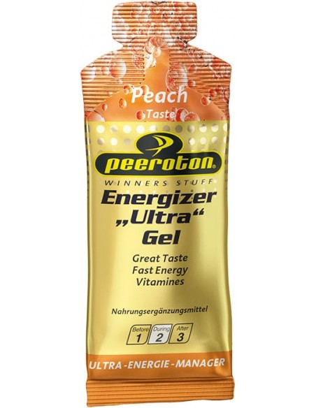 Peeroton Energizer Ultra Gel, Pfirsich, 40g von Peeroton