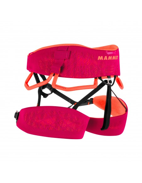 Mammut Klettergurt Comfort Knit Fast Adjust Harness Women, Sundown-Safety Orange von Mammut