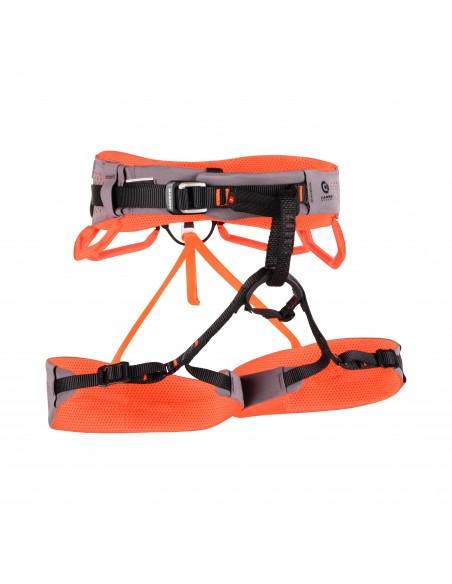 Mammut Klettergurt Comfort Fast Adjust Harness Women, Shark-Safety Orange von Mammut