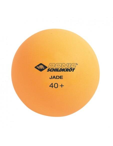 Donic-Schildkröt Tischtennisball Jade, Poly 40+, 6x Weiß / 6x Orange von Donic Schildkröt