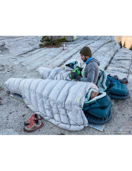 Therm-A-Rest Schlafsack Vesper -6C Regular, Vapor von Therm-a-Rest