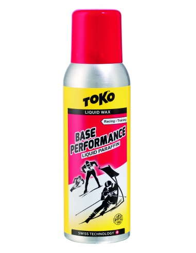 Toko Base Performance Liquid Paraffin red - 100 ml von Toko